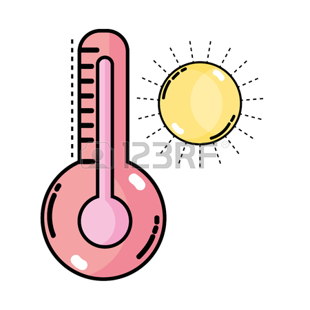 450x450 Thermometer Measure Instrument To Know The Temperature Royalty