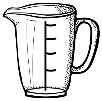 345x342 1 Cup Measuring Cup Clipart Free Measuring Cup Clipart