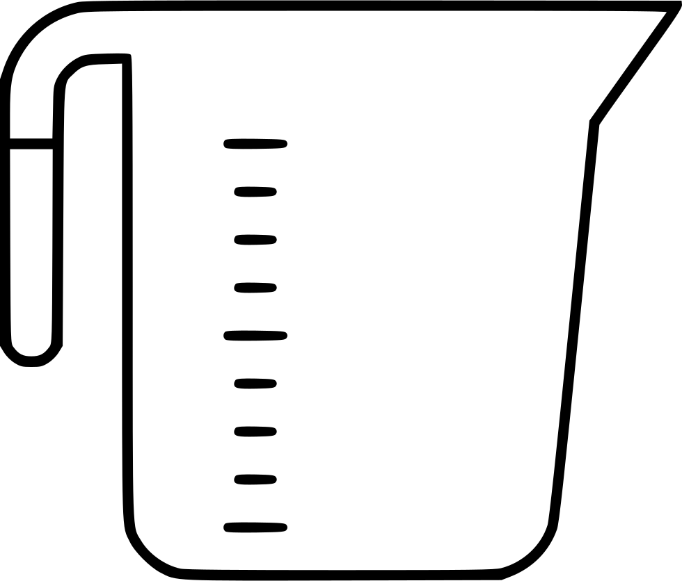 980x836 Cup Clipart Measuring Cup