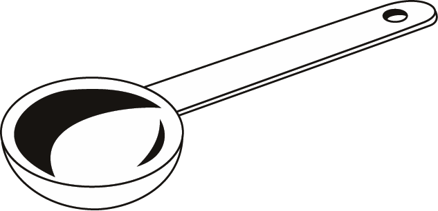 633x306 Cup Clipart Measuring Spoon