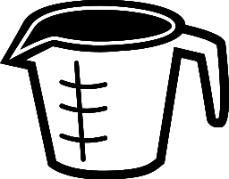 256x201 Kitchen Clipart Measuring Cup