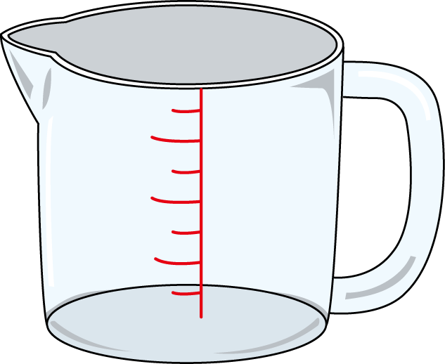 633x518 Measuring Cup Clip Art