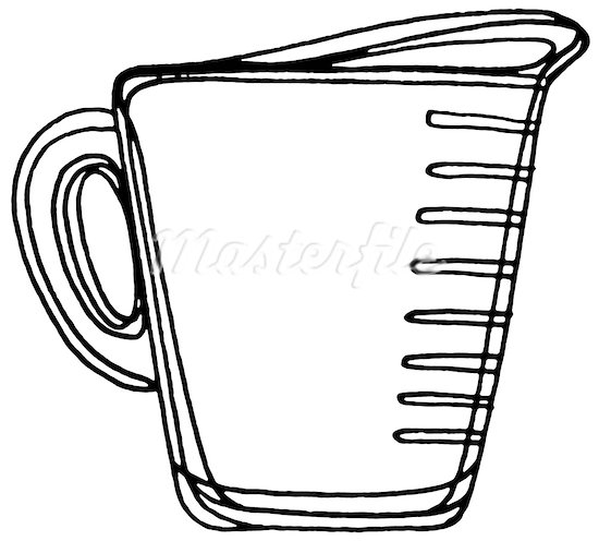 550x496 Measuring Cup Clipart 1 Cup Measuring Cup Clipart Clipart Panda