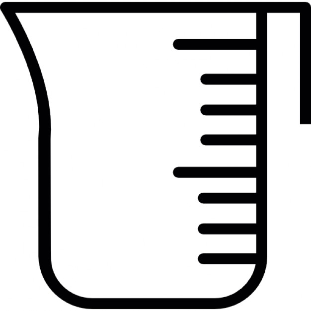 626x626 Measuring Cup Tool, Ios 7 Interface Symbol Icons Free Download