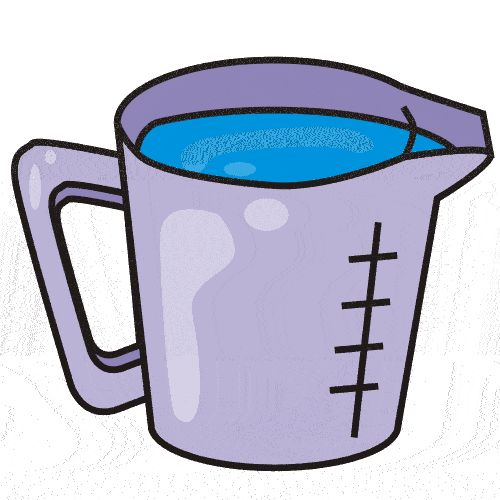 500x500 Water Clipart Cup Water