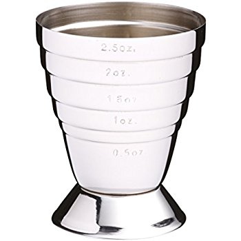350x350 Barcraft Stainless Steel Jigger (Spirit Measuring Cup) Amazon.co