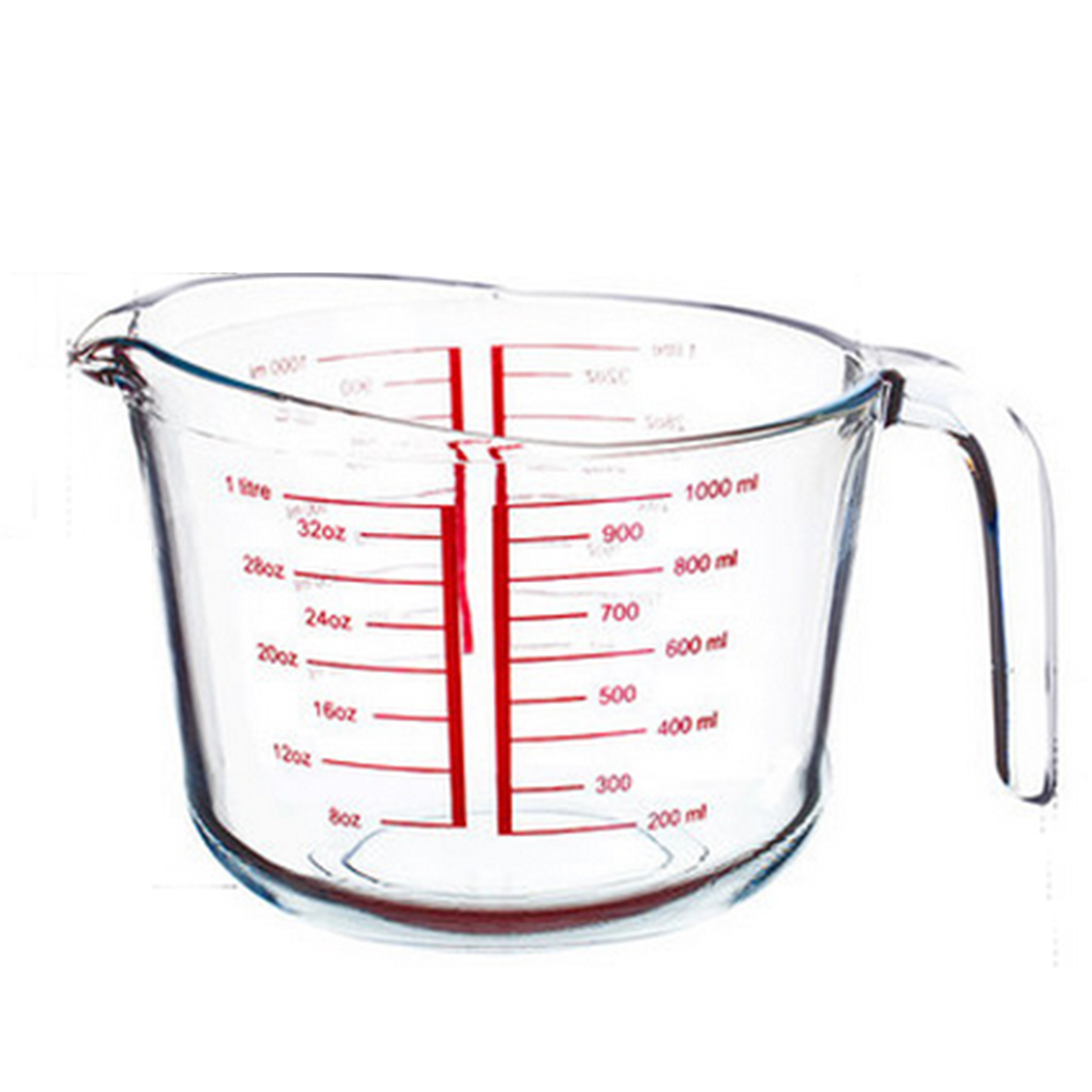 1100x1100 Hipsteen Measuring Cup Heat Resistant Tempered Glass Cup Kitchen