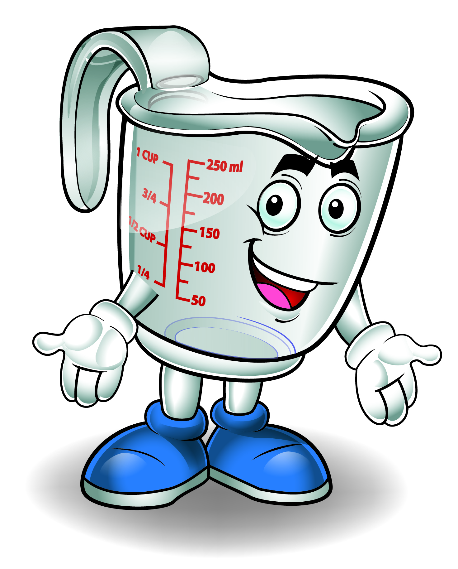 1471x1825 Water In Measuring Cup Clipart