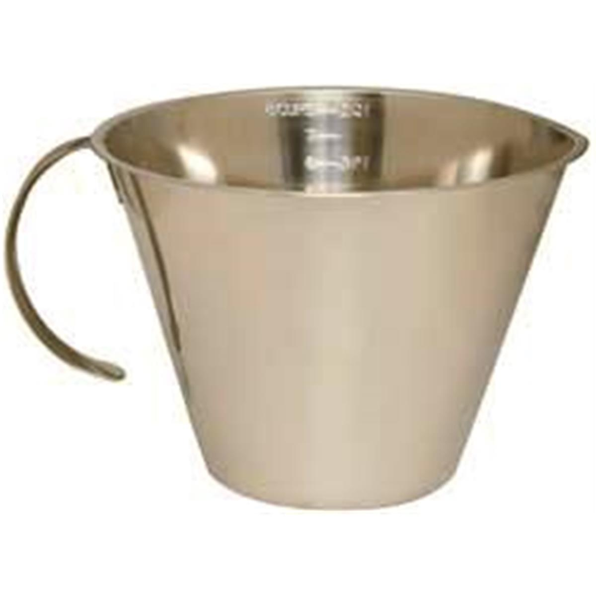 1200x1200 8 Cup Stainless Steel Measuring Cup Gempler'S