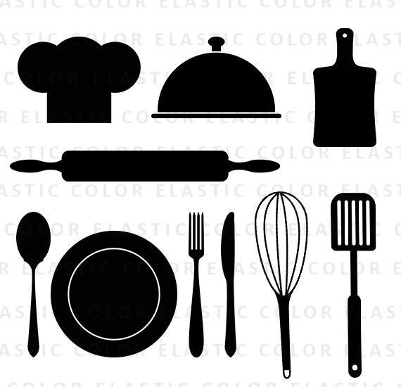 570x550 Kitchen Svg File,kitchen Monogram Svg,kitchen Flourish,vector Clip
