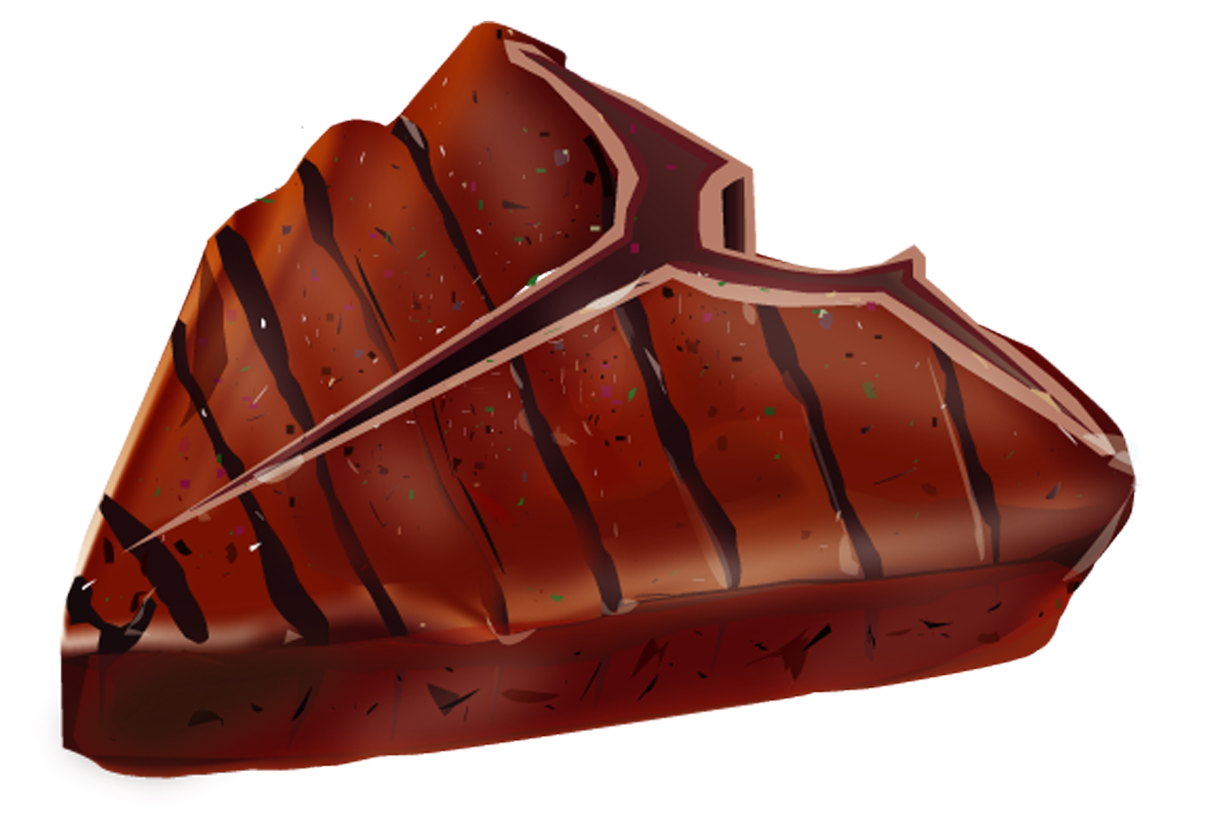2417x1662 Steak Clip Art