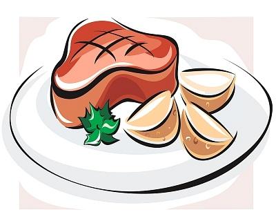 400x320 Steak Clip Art Amp Steak Clipart Images