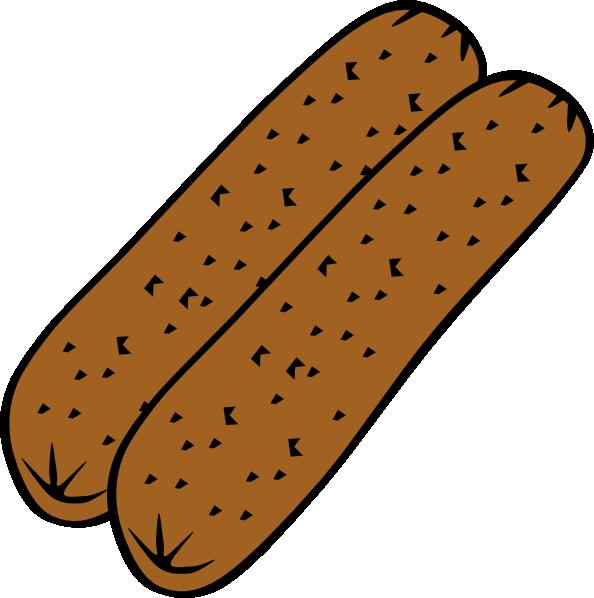 594x598 Breakfast Sausage Clip Art