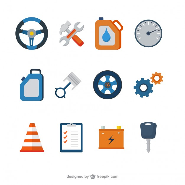 626x626 Mechanical Icons Vector Free Download