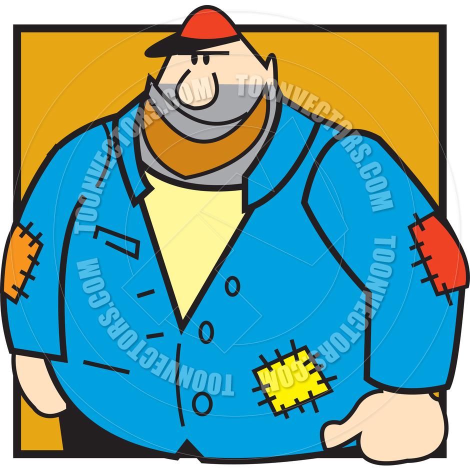 940x940 Cartoon Mechanic Vector Illustration By Clip Art Guy Toon