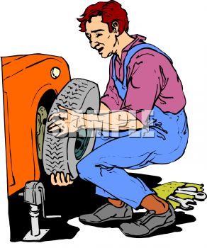 292x350 Mechanic Clipart