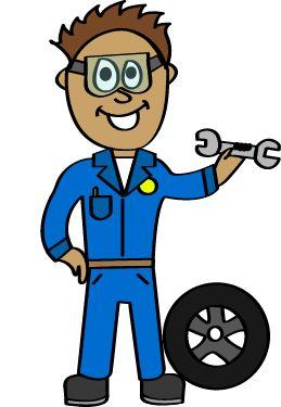 259x375 Clipart Mechanic