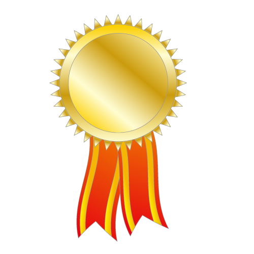 500x500 Gold Medal Clipart