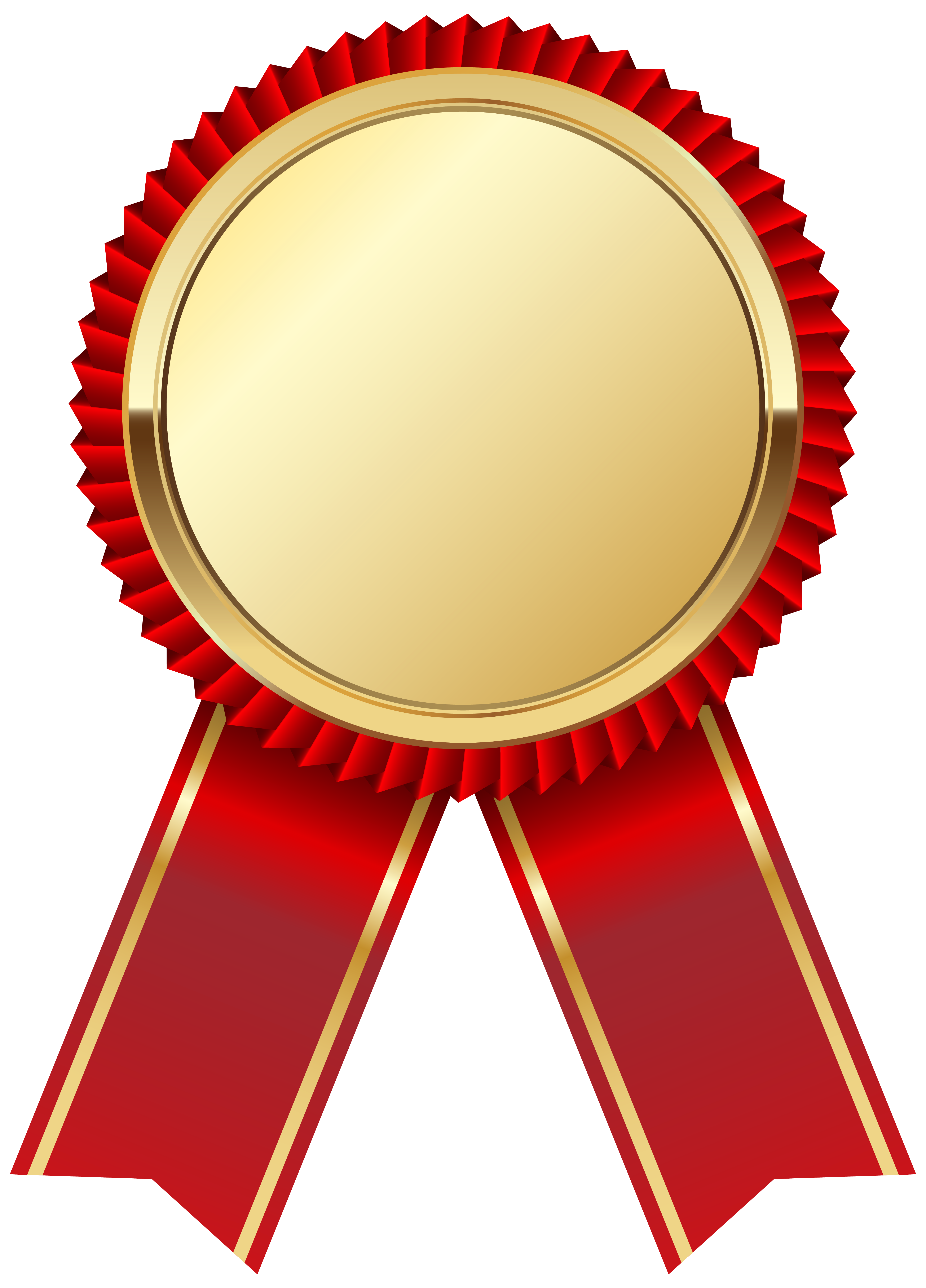 4420x6145 Gold Medal With Red Ribbon Png Clipart Pictureu200b Gallery
