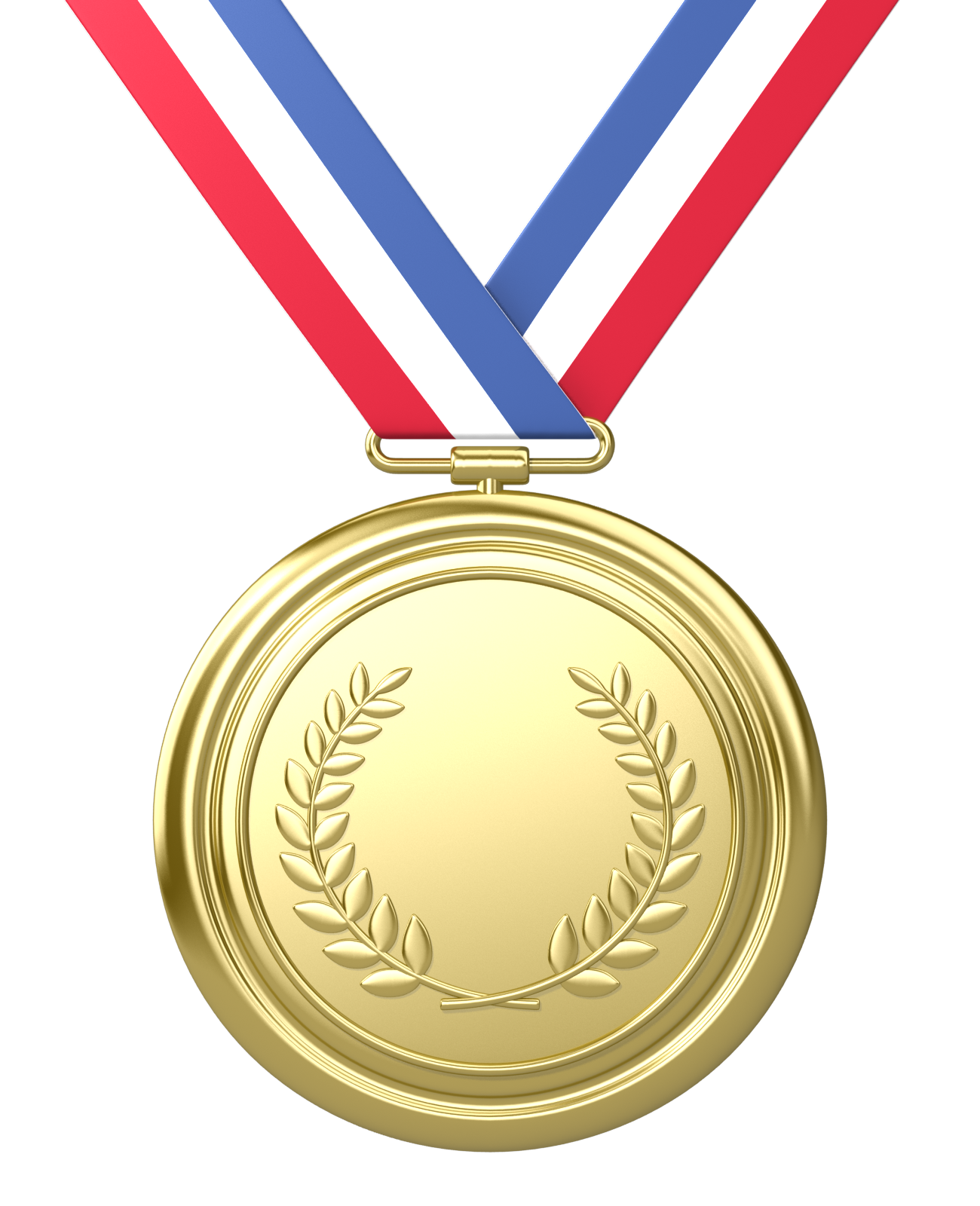 1300x1600 Olympiad Gold Medal Clipart