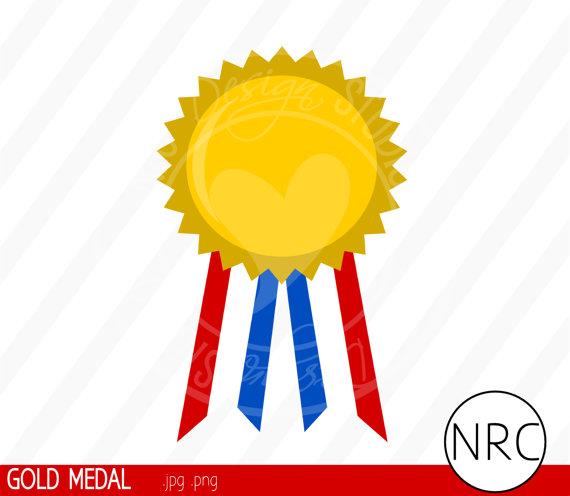 570x496 Gold Medal Winner Clipart