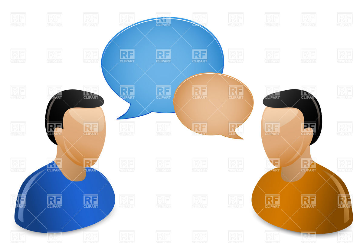 1200x802 Social Media Communication Concept Royalty Free Vector Clip Art