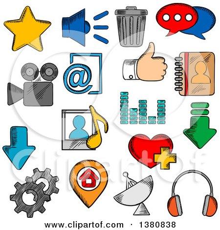 450x470 Social Media Page Clip Art Cliparts