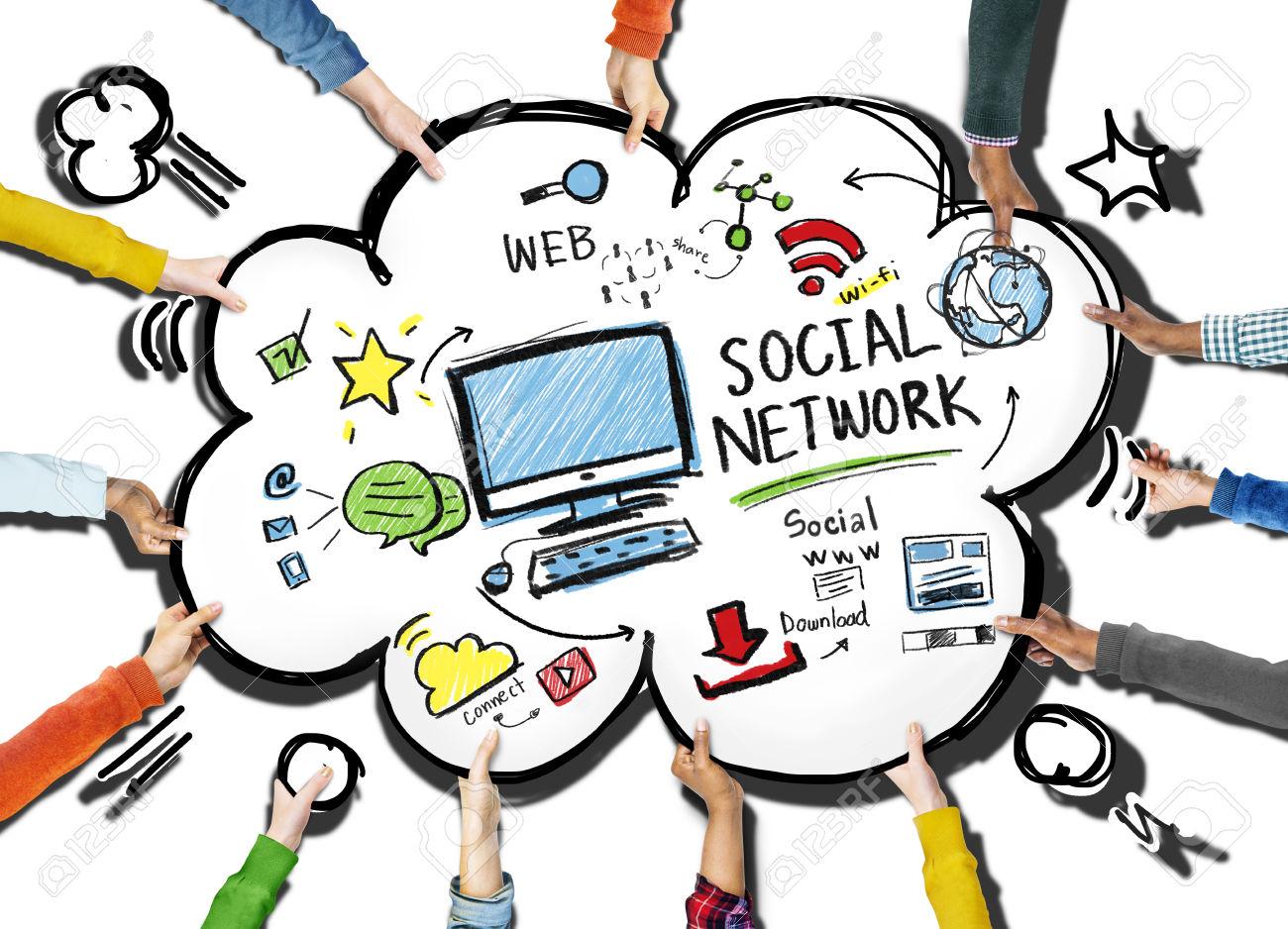 1300x938 Social Media Tools Clip Art Cliparts
