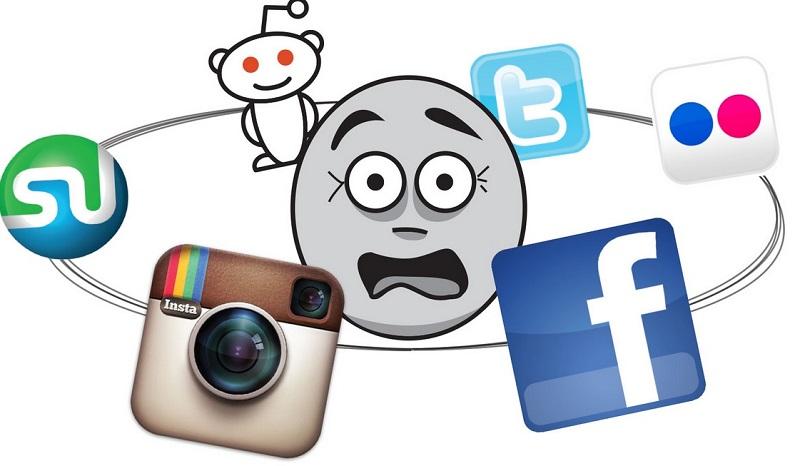 800x466 Social Media Clipart