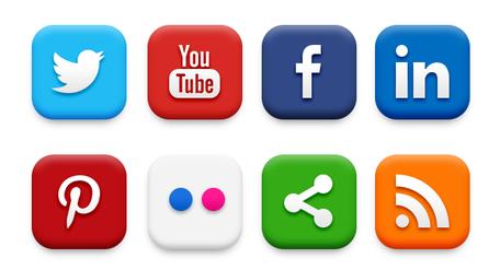456x247 Social Media Clip Art, Vector Social Media