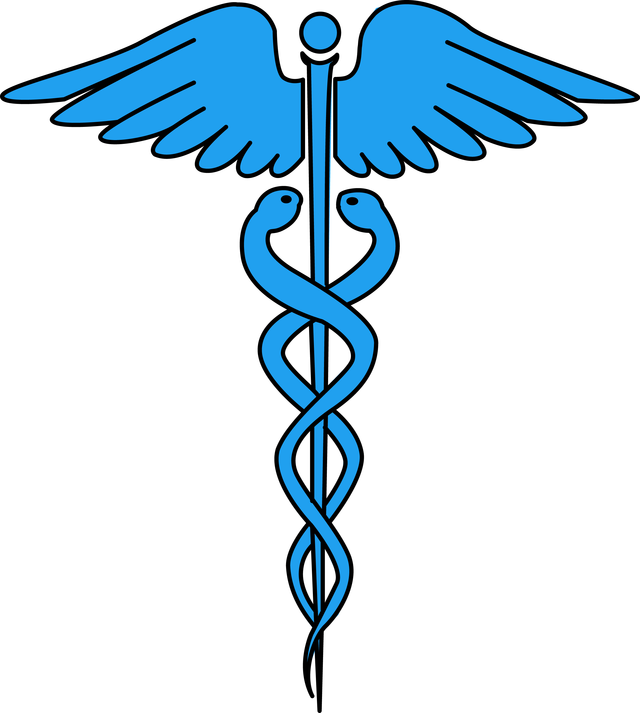 2528x2815 Image For Free Caduceus Medical Symbol Health High Resolution Clip