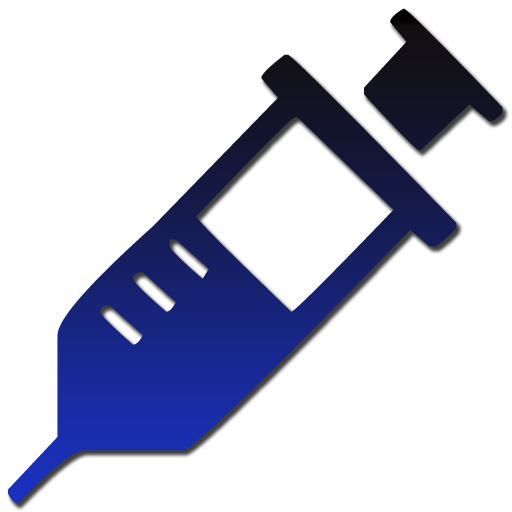 512x512 Medical Syringe Symbol Clipart Image
