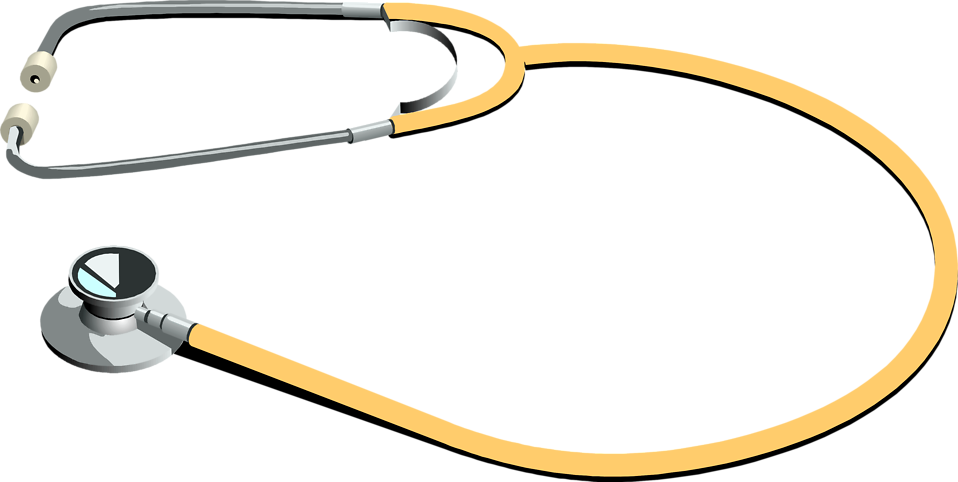 958x482 Stethoscope Regular Clip Art Medical Completely Free Image