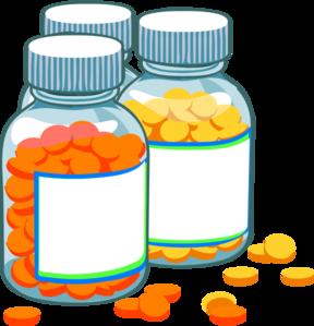 288x299 Blank Medicine Bottles Clip Art