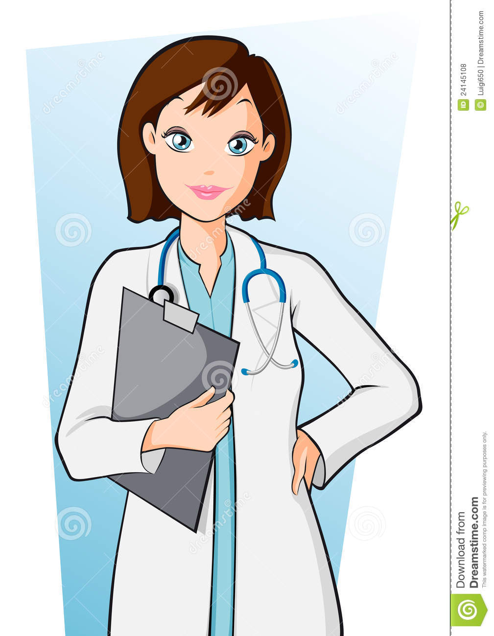 1009x1300 Woman Doctor Clipart