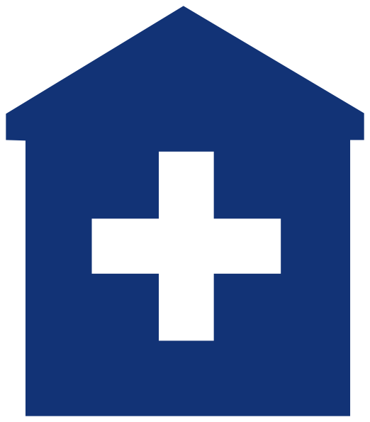 522x595 Primary Care Medical Home Blue Hospital Doctor Clip Art