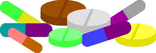 600x206 Medicine Pills Drug Clip Art