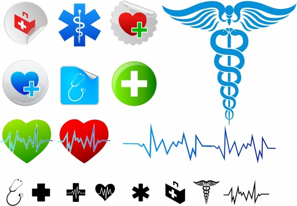 600x417 Medical Logo Free Vector Download (68,202 Free Vector)