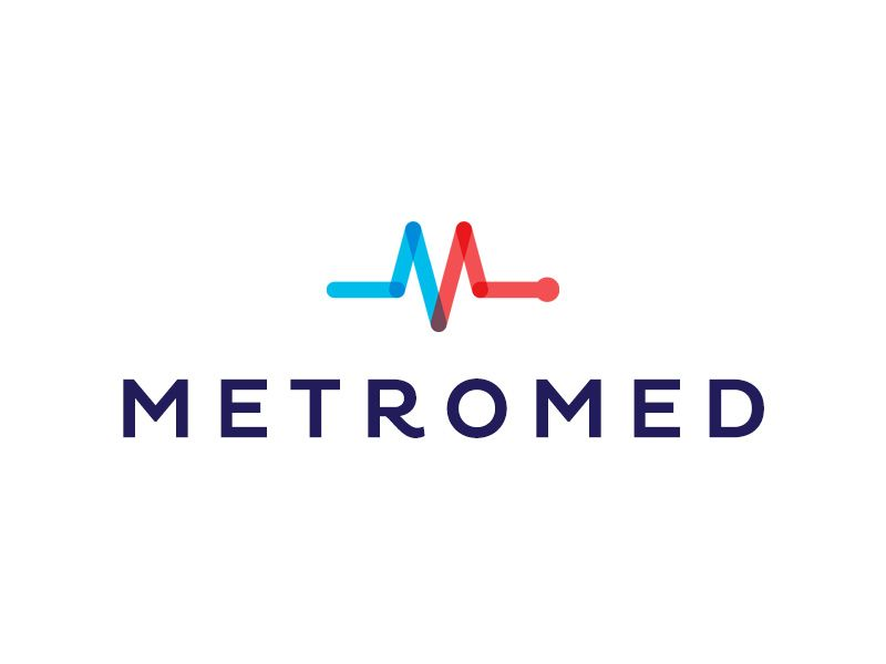 800x600 Metromed Medical Logo, Logos And Brand Identity