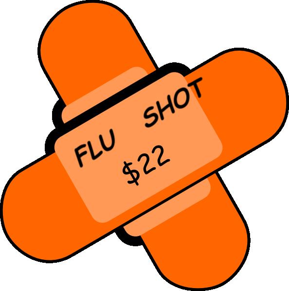 594x598 Flu Shot Clip Art