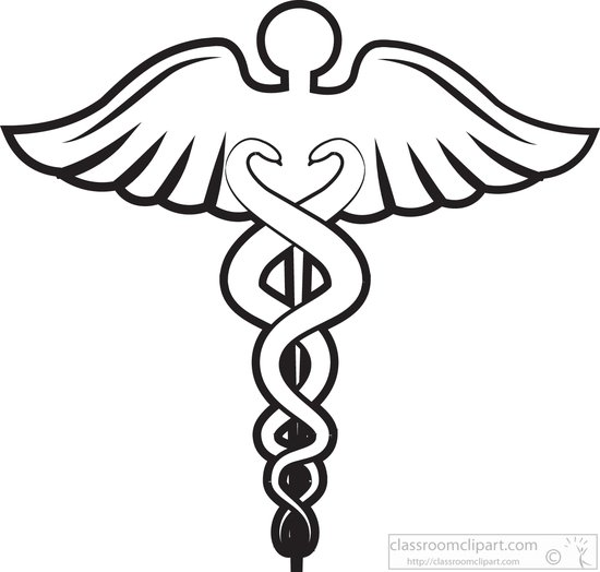550x524 Free Black And White Medical Clip Art