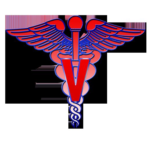 512x512 Veterinary Medical Symbol Clipart Image