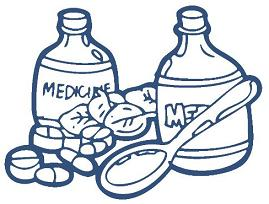269x204 Free Medication And Pills Clipart