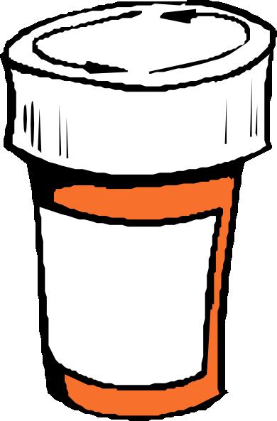 390x593 Pharmacy Bottle Clip Art Clip Art