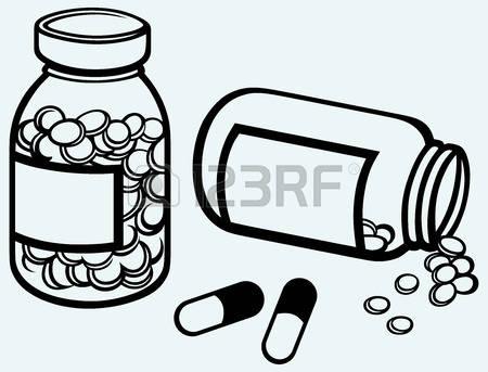 450x343 Drugs Clipart Pill Bottle