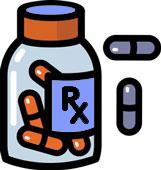 161x170 Medicine Clipart Rx Bottle