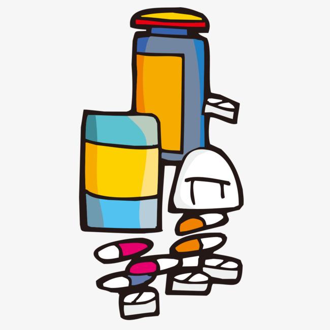 650x651 Medicine Pills Bottle, Medicine, Pill, Bottle Png Image For Free