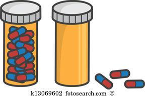 288x194 Pills Clipart Prescription Bottle