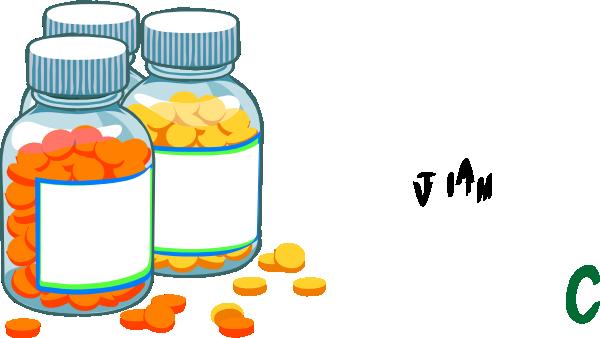 600x338 Blank Medicine Bottles Clip Art