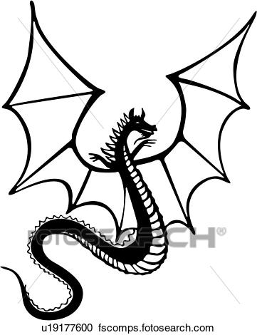 361x470 Clipart Of , Armor, Dragon, Medieval, Weapon, Weapons, U19177600